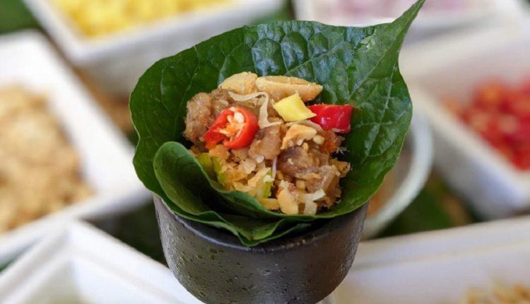 Miang Kham – món ăn chơi thú vị của người Thái